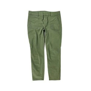 Old navy Army Green Pixie Pants Cargo Utility Crop